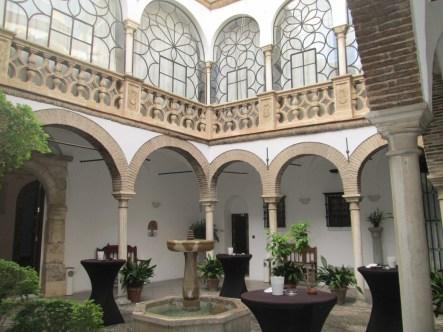 Palacio de los marqueses de Casablanca. Patio. Foto: Francisco López