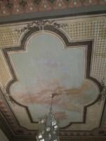 Biblioteca. Frescos del techo. Palacio de los Duques de Gor