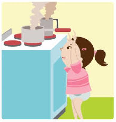 Quemaduras en niños