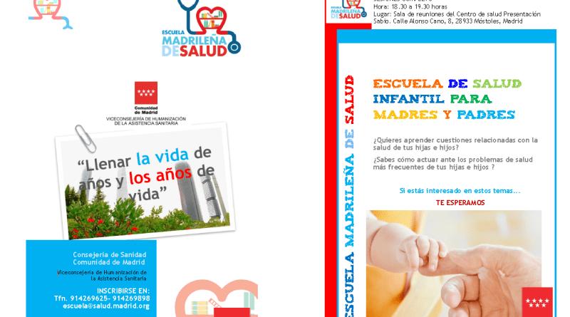 Escuela de Salud Infantil para madres y padres