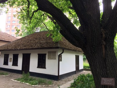 Pushkin lived in ths house.