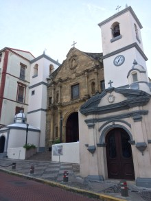 Merced Church in Casco Viejo, Panama. Originally in Panama Viejo