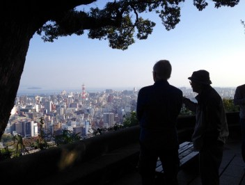 Kagoshima: Comparing notes with a local