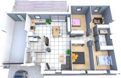 â–· Casas Modernas para Minecraft en PDF MisPlanosdeCasas com