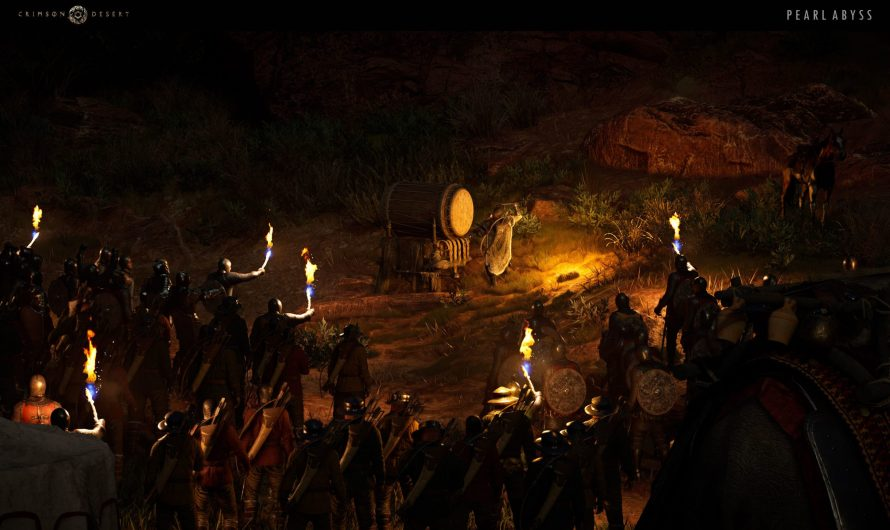 Crimson Desert : est-ce un MMORPG?