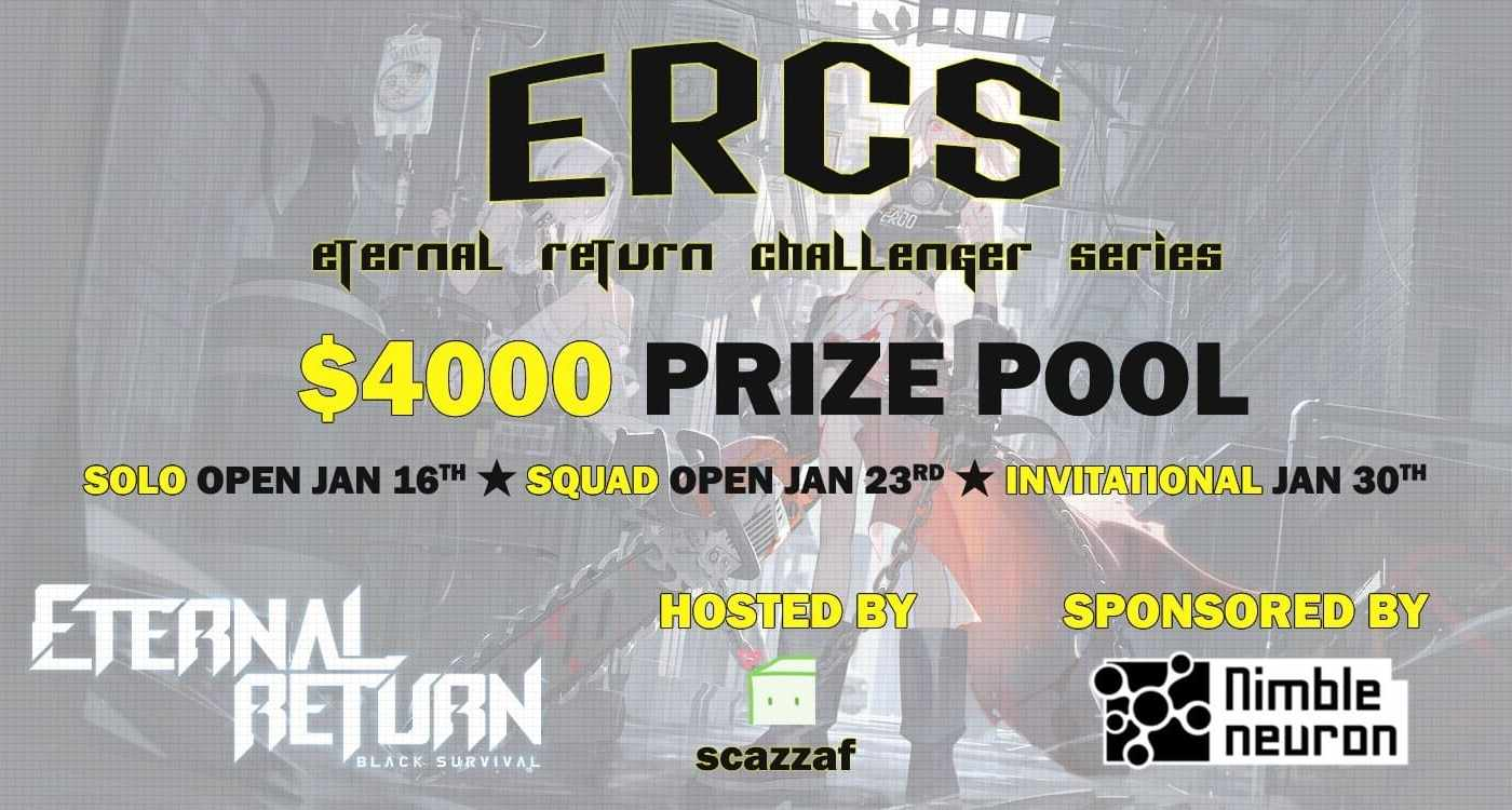 , Eternal Return Challenger Series,eternal return, premier tournoi, tournoi, eternal return france