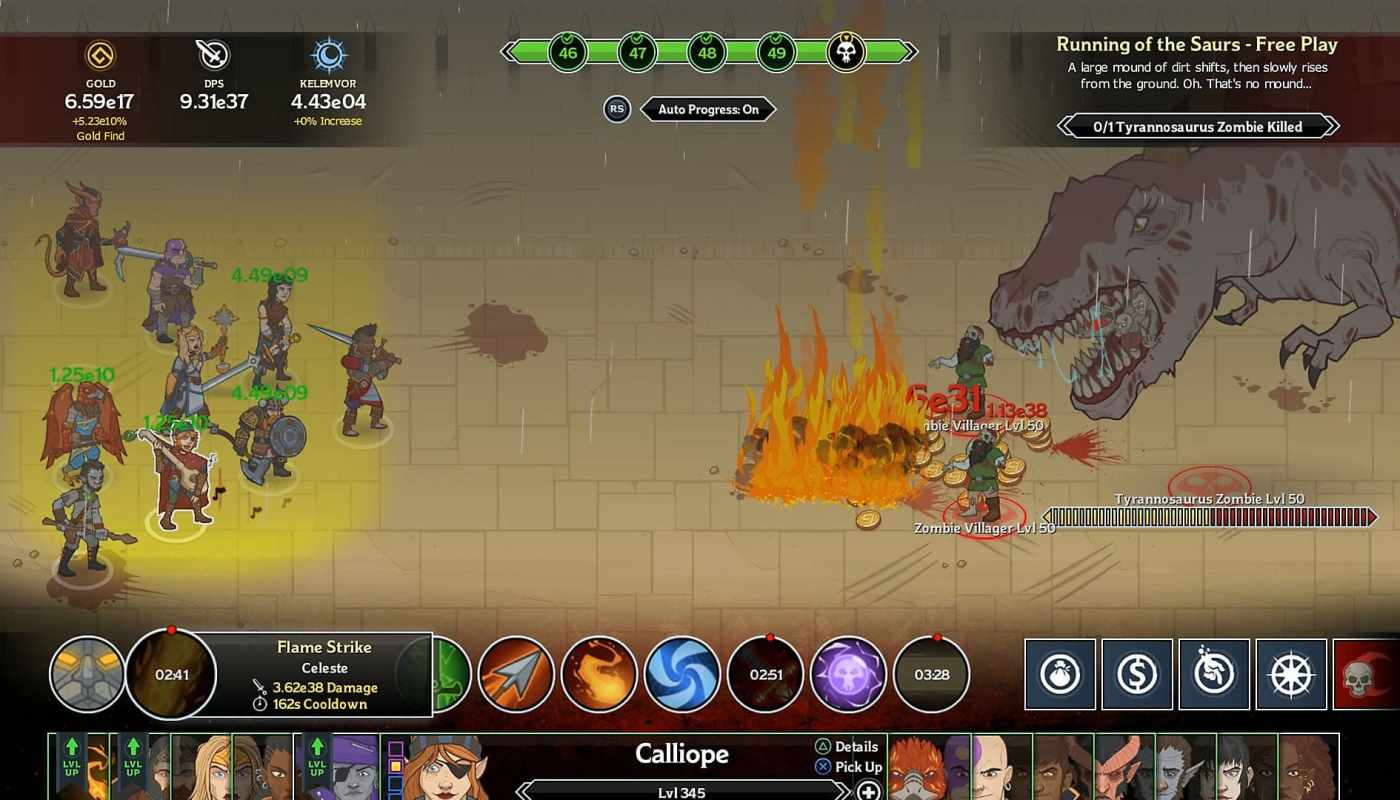 Idle Champions of the Forgotten Realms , gratuit, epic store, bons plans, misplay, free game,