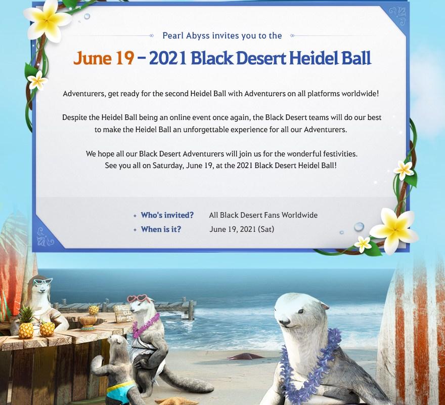Balle d'Heidel, balle, event black desert online, black desert online france, bdo, black desert, bdo france, misplay, news black desert online, bdo francais, pearl abyss