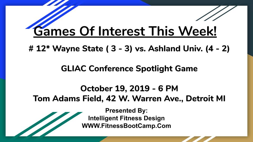 Week 7 Games of Interest (3)