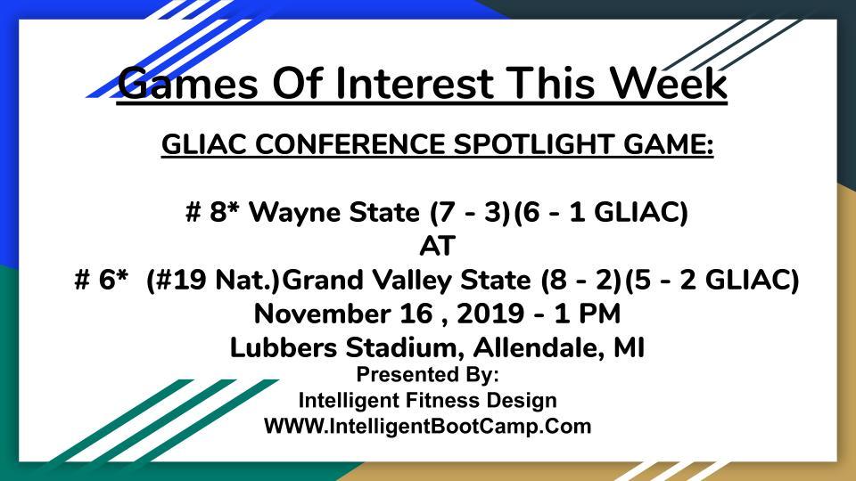 Week 11 Games of Interest (1)