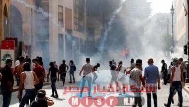 Photo of تصاعد الاشتباكات بين قوات الأمن اللبنانية والمتظاهرين.