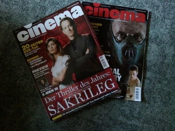Meine ersten Cinema-Magazine