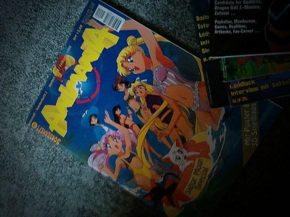 Sailor Moon-Sonderausgabe der AnimaniA 1998 (?)