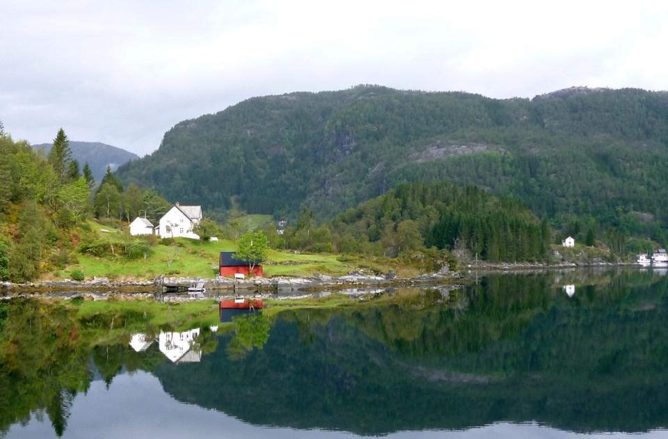 Postkartenmotive während der Fjordtour