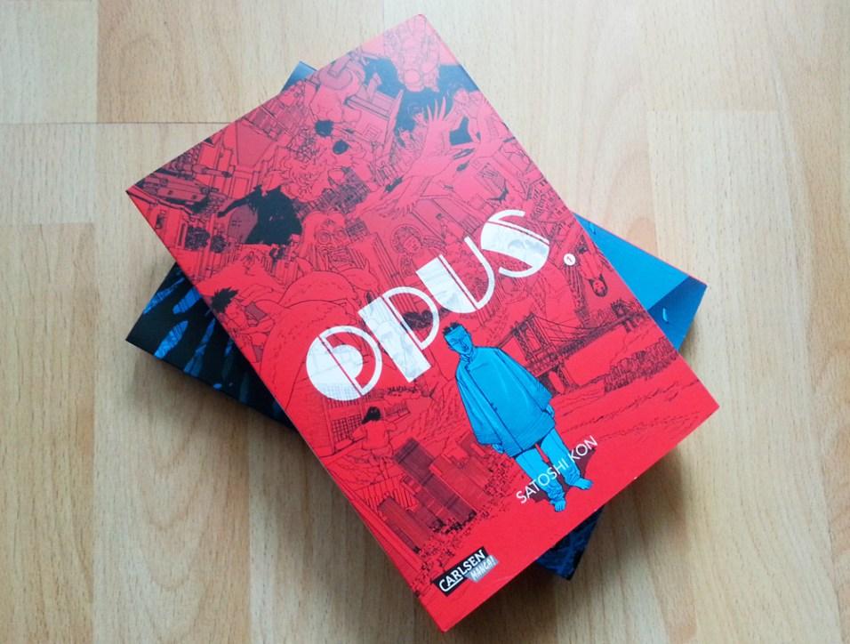 "Satoshi Kon ""Opus"", Manga"