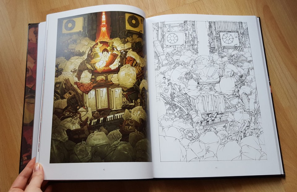 pages from: The Art of Satoshi Kon, Artbook, Dark Horse Comics