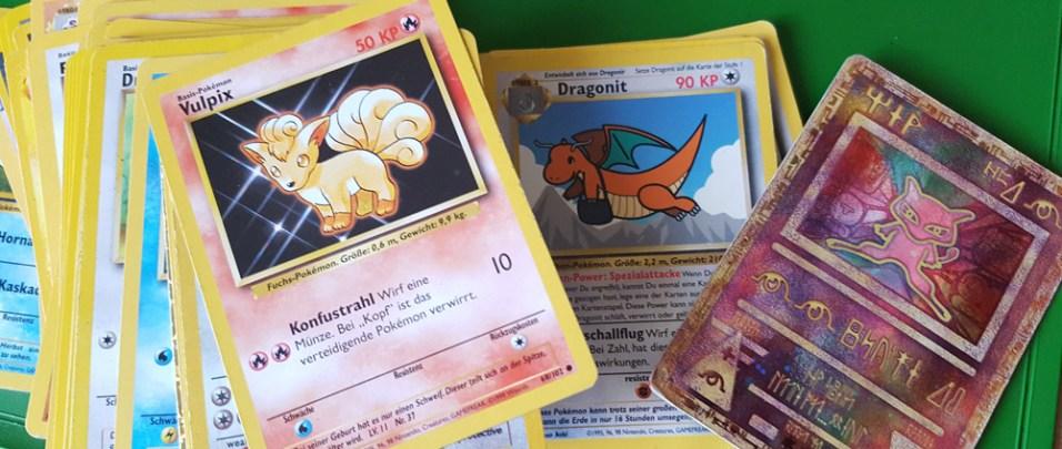 Impressionen aus dem alten Kinderzimmer ... Pokémon