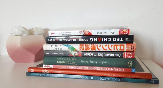 Ausbeute der Leipziger Buchmesse 2017