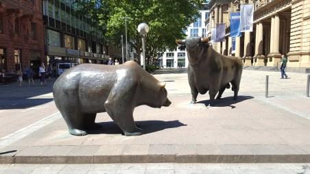 Bulle und Bär an der Börse ... oder: Los Bär! Setz Tackle ein!