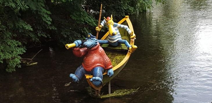 Captain Blaubär und Hein Blöd in Erfurt