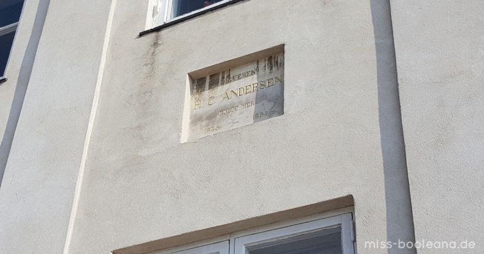 Haus von Hans Christian Andersen in Nyhavn