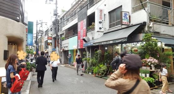"""Harajuku Street"" - weniger überlaufen"