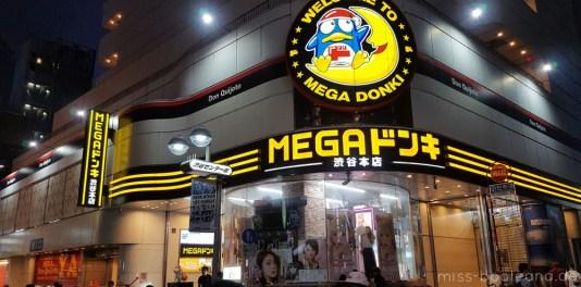 Mega Donki - hier lauert Reizüberflutung