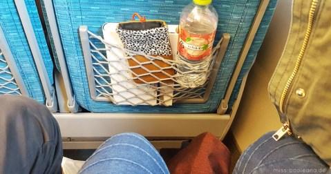 Beinfreiheit im Shinkansen: check