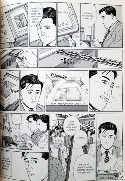 """Shinkansenfahrt und Bentō in """"Der Gourmet"""""""