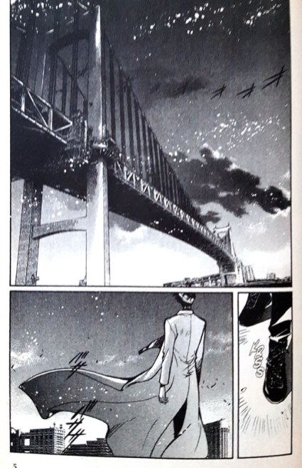 "Rainbow Bridge im Manga ""X"""