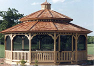 a sample gazebo