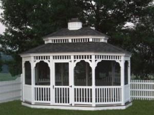 Oval Gazebo