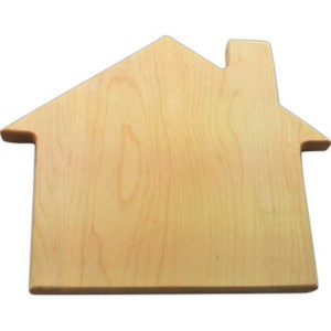 house, custom cutting board
