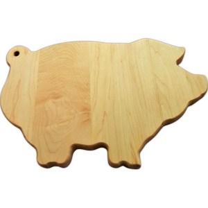 pig, custom cutting board