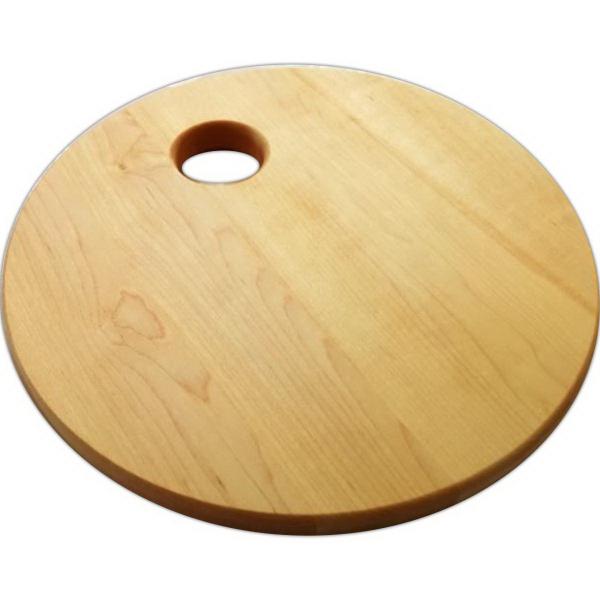 round, custom cutting board