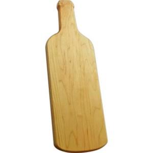 wine bottle, custom cutting board