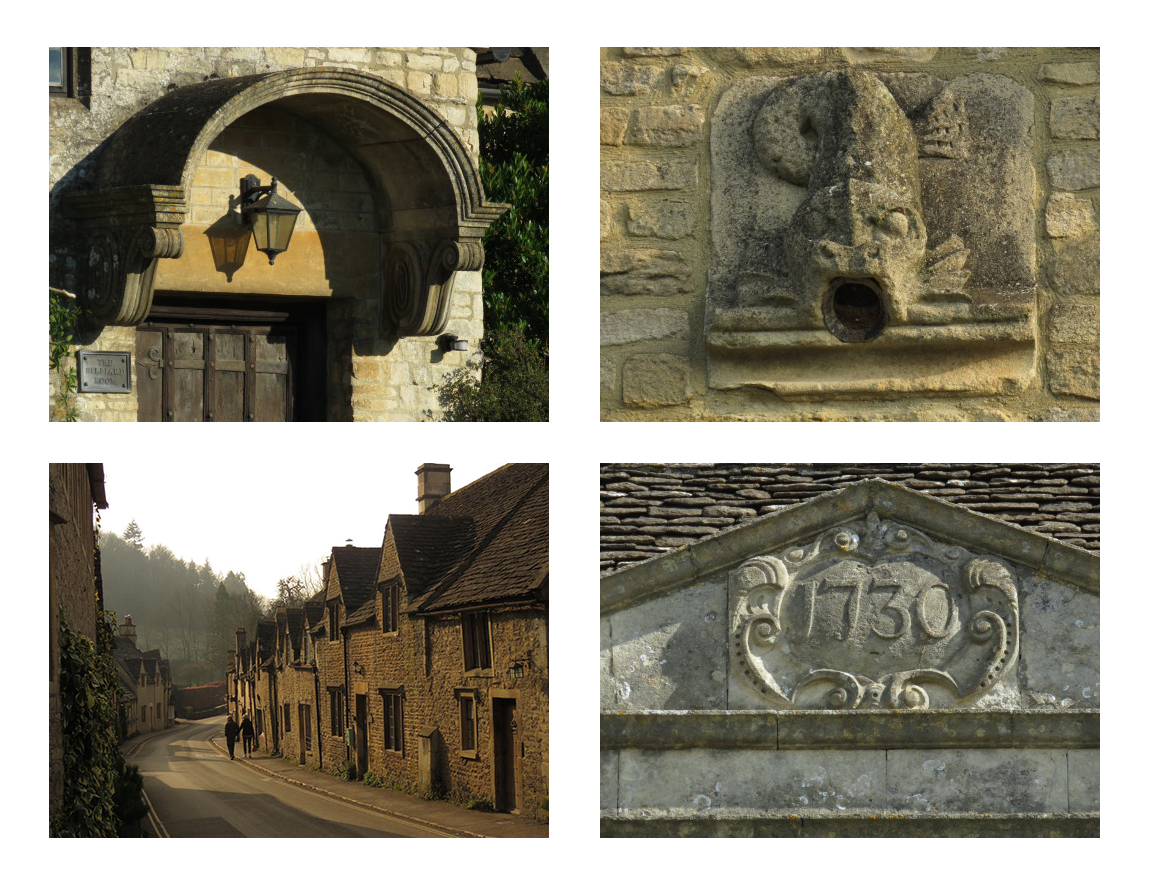 Photographs of buildings in the Cotswolds
