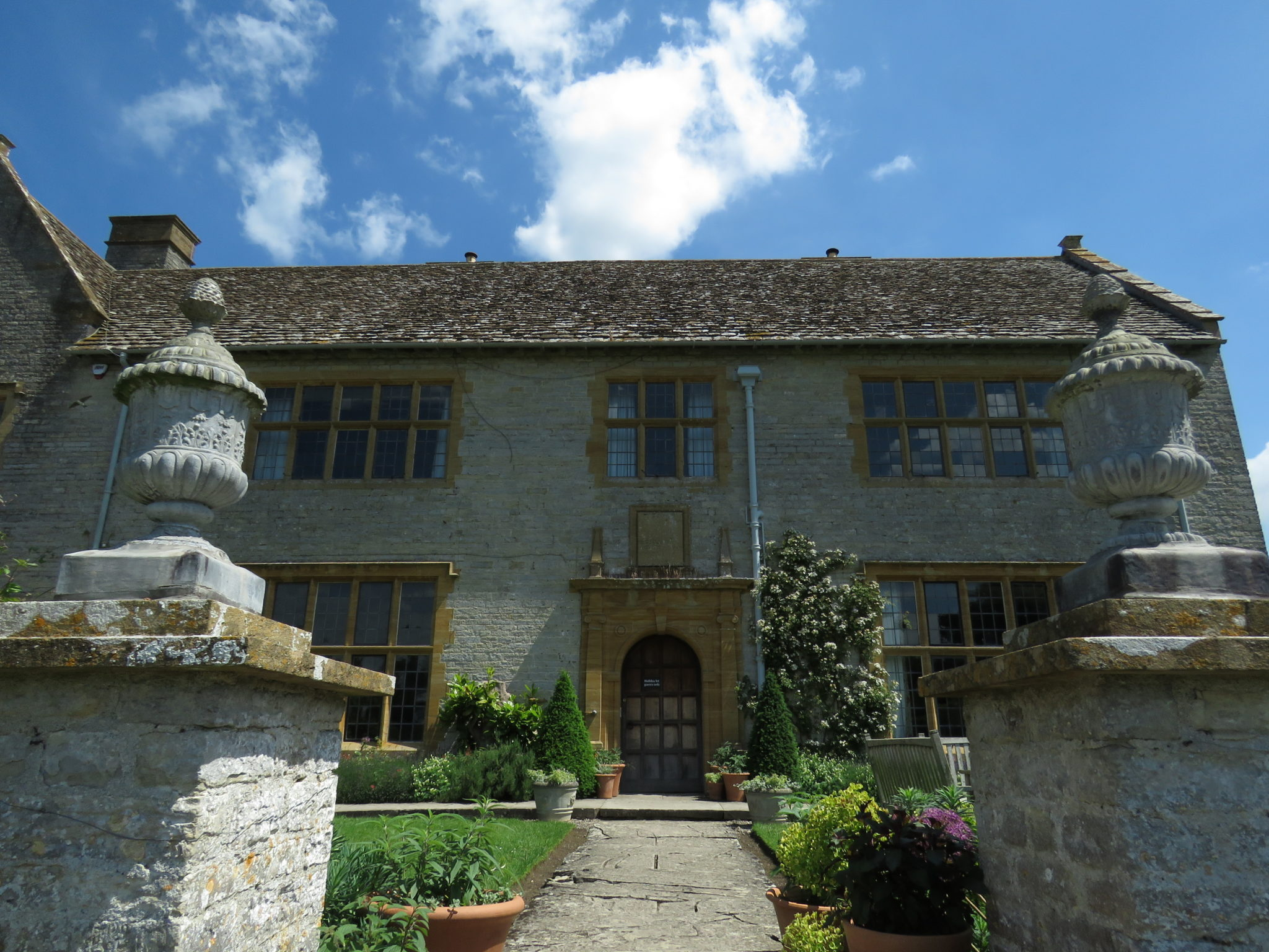 The National Trust's Lytes Cary Manor, Somerset, England