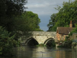 View on the river with Salisbury Punting