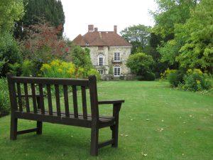 Garden at Arundells, Salisbury