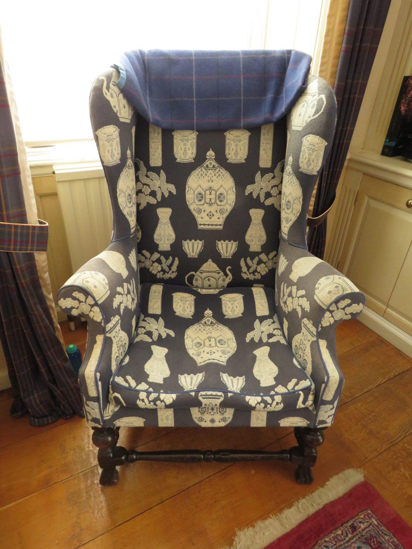 Sir Edward Heath's Teaport Chair, Arundells, Salisbury