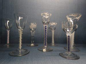 Turnball glass collection, Mompesson House, Salisbury