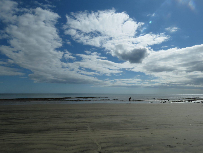 Beach at Lyme Regis, Dorset, England