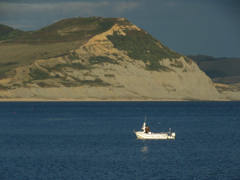 Fishing boat, Lyme Regis, Dorset, England