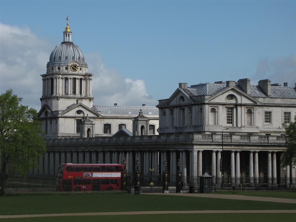 Visiting Greenwich, London