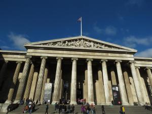 Visiting the British Museum, London