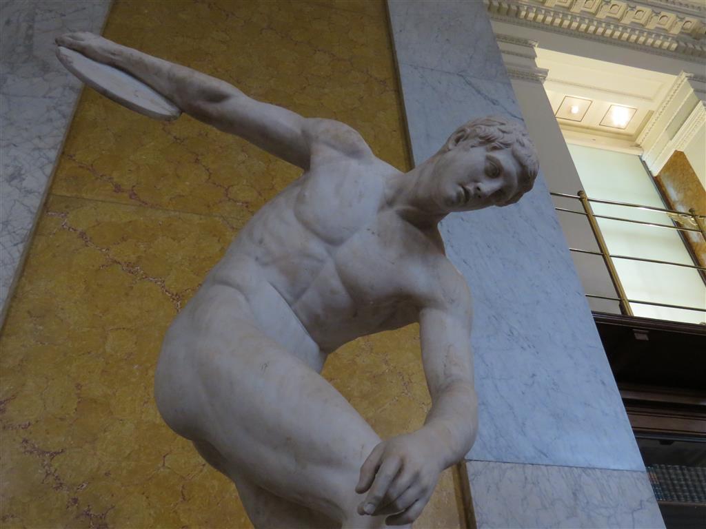 Discobolus, Enlightenment Gallery, British Museum, London