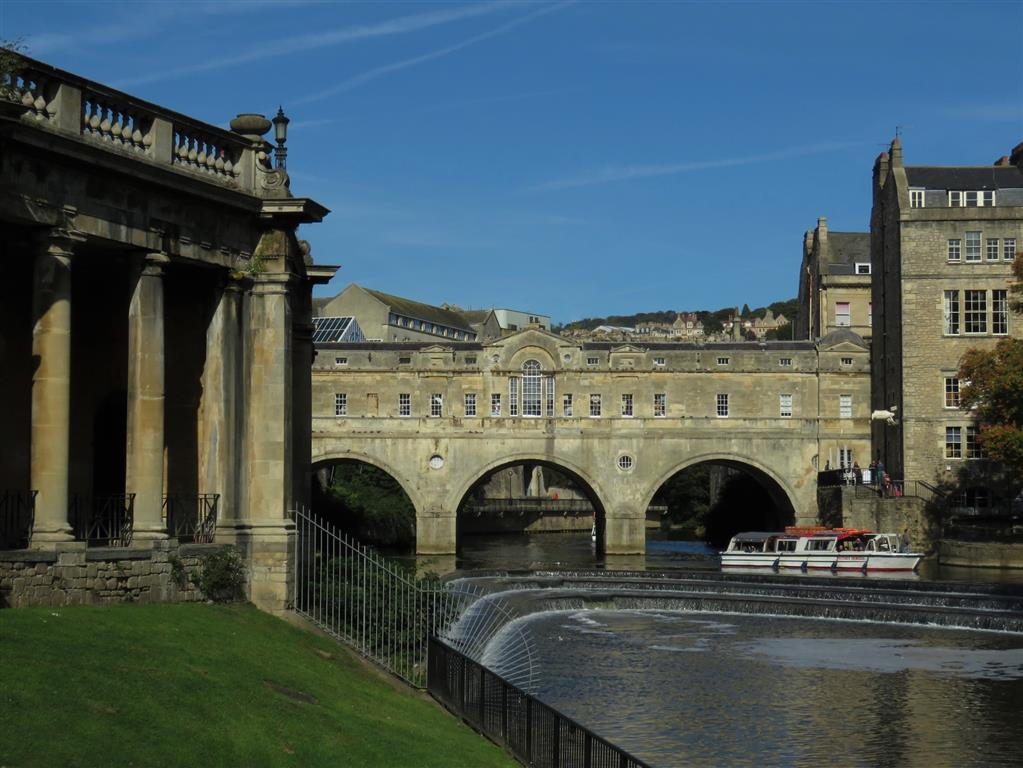 Pulteney Bridge and Weir, Bath, England