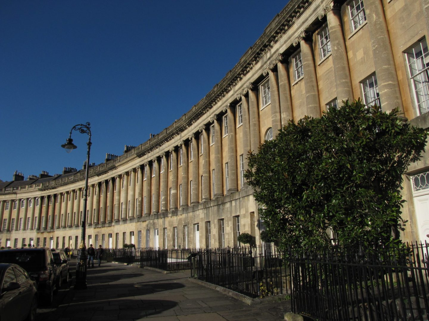 Exterior of the Royal Crescent Hotel, Bath