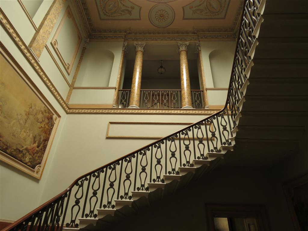 The interior of the National Trust's Berrington Court